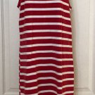 ESCADA SPORT TANK DRESS OR SWIM SUIT COVERUP STRIPED SIZE 36 4 6 T STRAP  BEACH