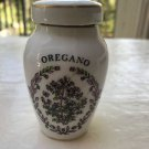 1985 FRANKLIN MINT Gloria Concepts Porcelain Spice Lidded Jar OREGANO JAPAN