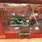 HARLEY DAVIDSON MOTORCYCLE 1:18 1998 MAISTO SERIES 5 1986 FLST HERITAGE SOFTAIL