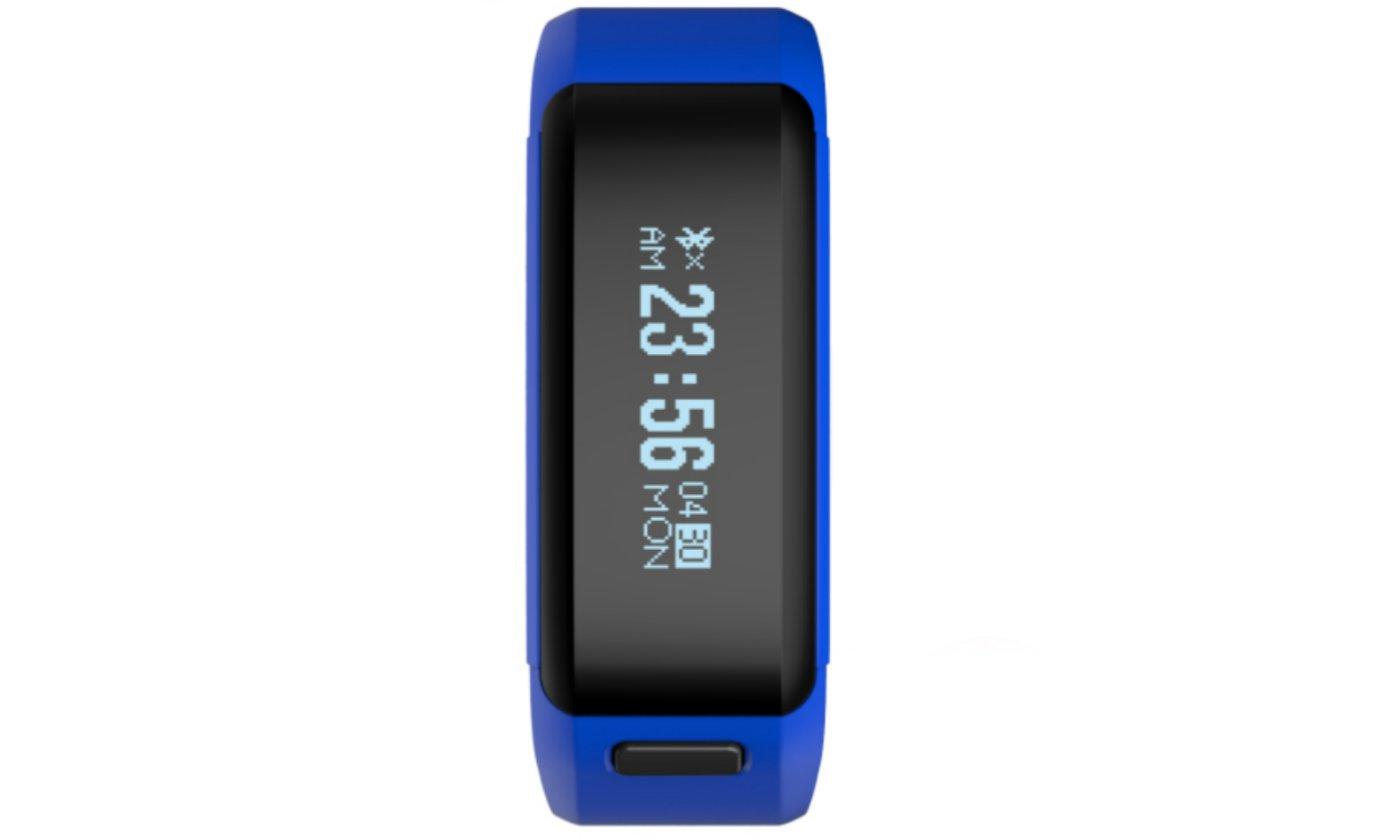 Blue Smart Watch OLED Touch Screen Waterproof Health Wristband