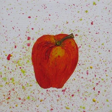 Gala 6 x 6 Original Oil on Canvas - Heather Piazza