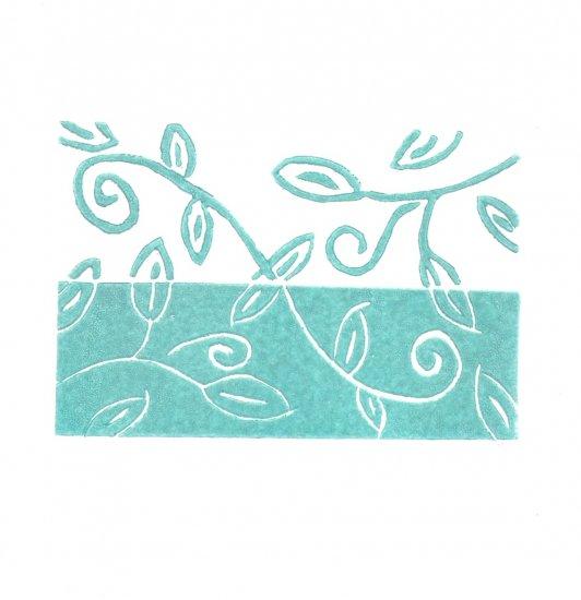 Summer 3 x 4.5 Original lino-print - Heather Piazza