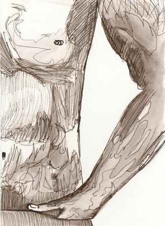 Pocket - Original Drawing - Mark Knot