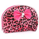 CHEETAH PRINT MAKE UP POUCH BAG ACCESSORY