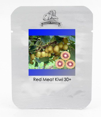 New Zealand Red Meat Kiwi Fruit with Smooth Yellow Skin Delicious Fruit Seeds