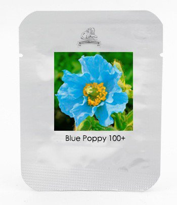 Rare Blue Himalayan Poppy Seeds, Very Beautiful Hardy Flower , 100 Seeds / Pack