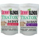14 DAY SKINNY DETOX TEA AM&PM TEATOX FLAT TUMMY BOOST METABOLISM BURN FAT