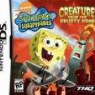 Spongebob Squarepants - Creature From The Krusty Krab - Nintendo DS