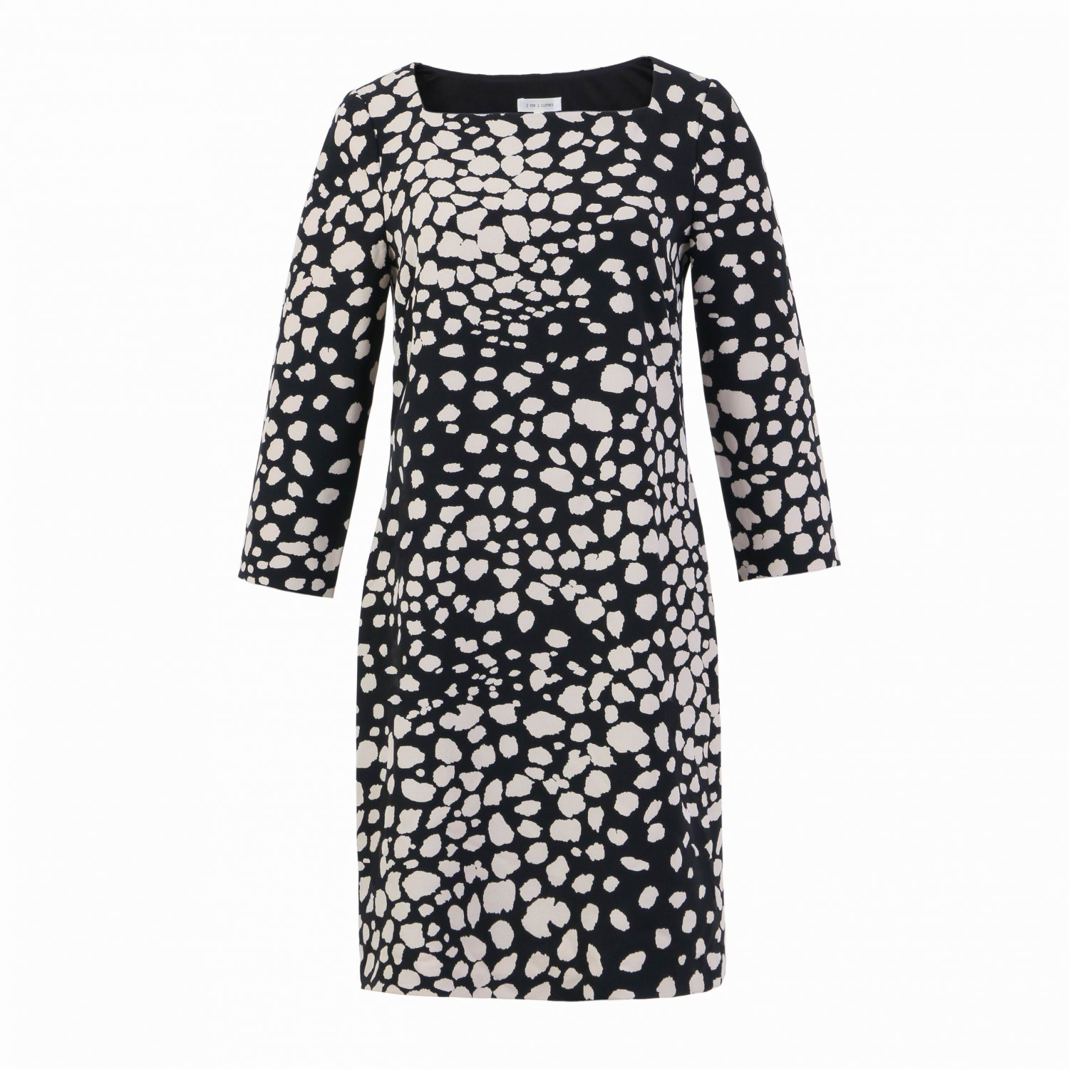 2 FOR 1 CLOTHES 3/4 Sleeve Dress