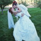 Fingertip wedding veil IVORY Ready to ship NEW