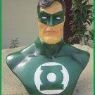 Custom Made Life Size Green Lantern Superhero Bust Figure Prop
