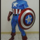 Custom Made Life Size Classic Captain America Superhero Statue Prop