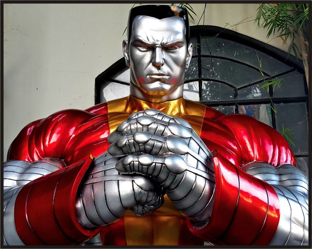 Custom Made Life Size X-Men Colossus Superhero Statue Prop