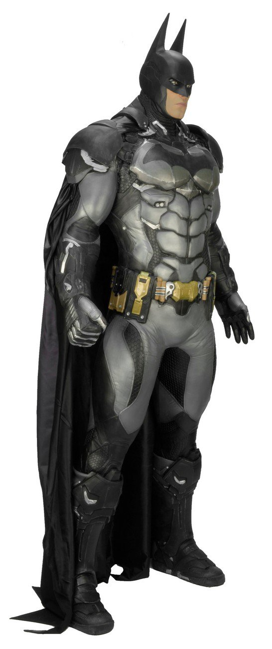 Wholesale Lot-Custom Made Batman Arkham Knight Fiberglass Life-Size Superhero Statue Prop 4pc Lot