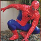 Custom Made Life Size Tobey Maguire Deluxe Crouching Spiderman Superhero Statue Prop