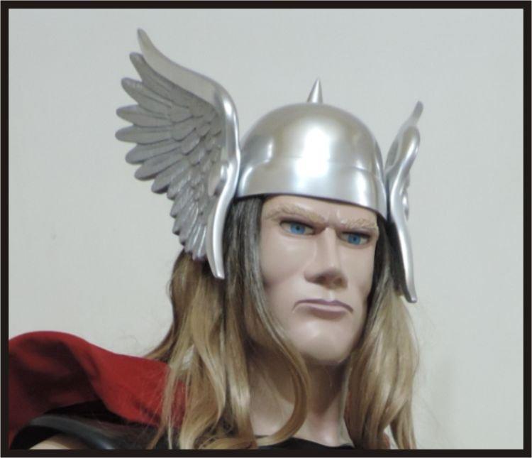 Custom Made Classic Thor Life size Helmet Superhero Prop