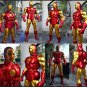 Custom Made Life Size Alex Ross Iron Man Mk3 Superhero Statue Prop