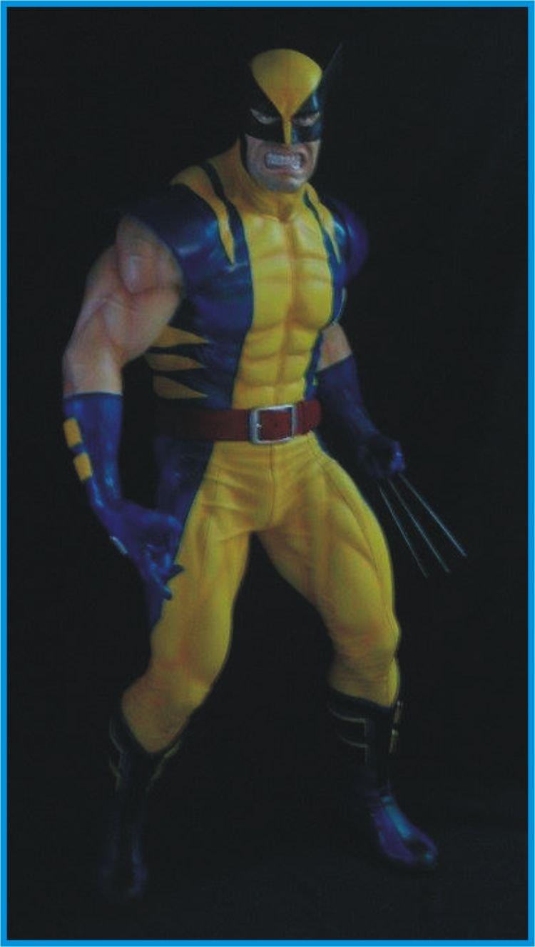 Custom Made Life Size wolverine #1 Superhero Statue Prop