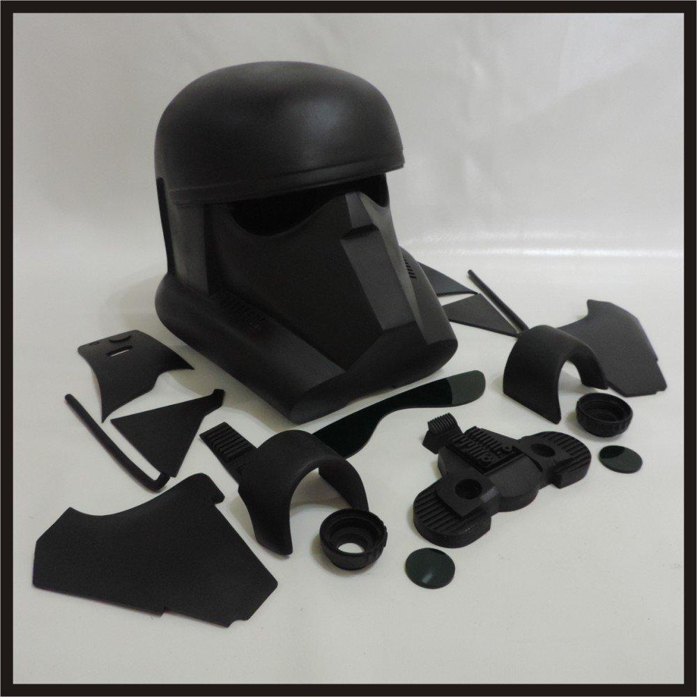 Custom Made Star Wars Rogue One/1 Death Trooper/Deathtrooper Life Size Helmet Prop Kit