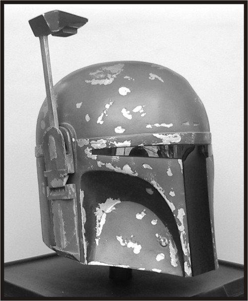 Custom Made Star Wars Boba Fett Mandalorian ROTJ Life Size Helmet Prop Kit