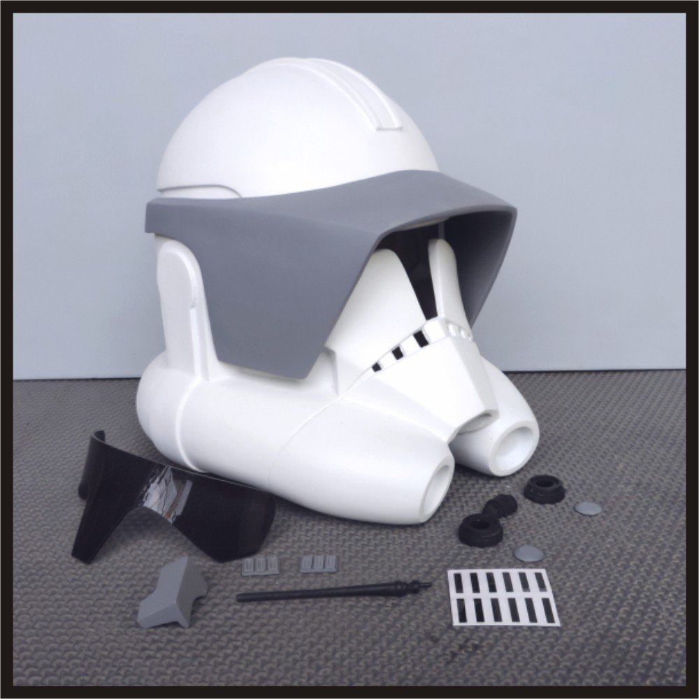Custom Made Star Wars Clone ARC Trooper TCW Season 6 Life Size Helmet Prop Kit