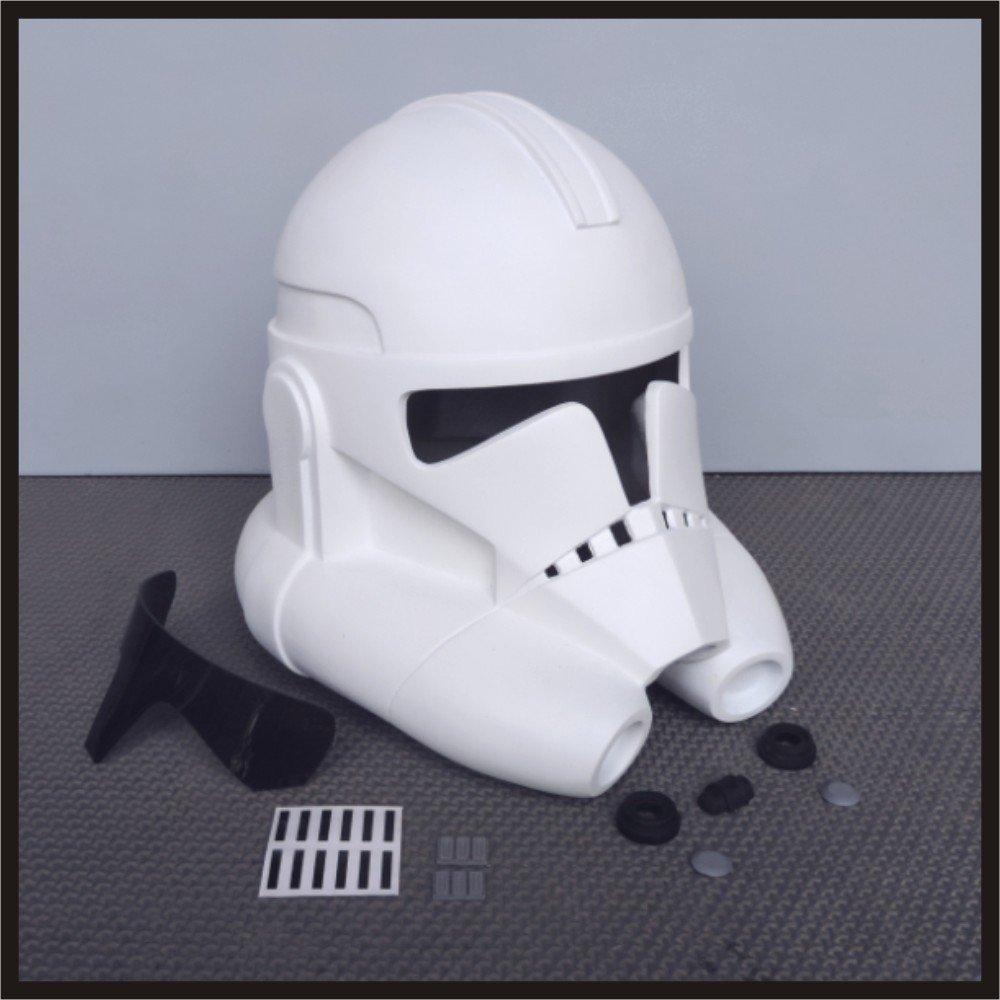 Custom Made Star Wars Clone Trooper TCW Season 6 Infantry Life Size Helmet Prop Kit