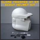 Custom Made Star Wars Clone Trooper AT-RT Life Size Helmet Prop Kit