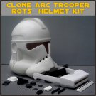Custom Made Star Wars Clone ARC Trooper ROTS Life Size Helmet Prop Kit