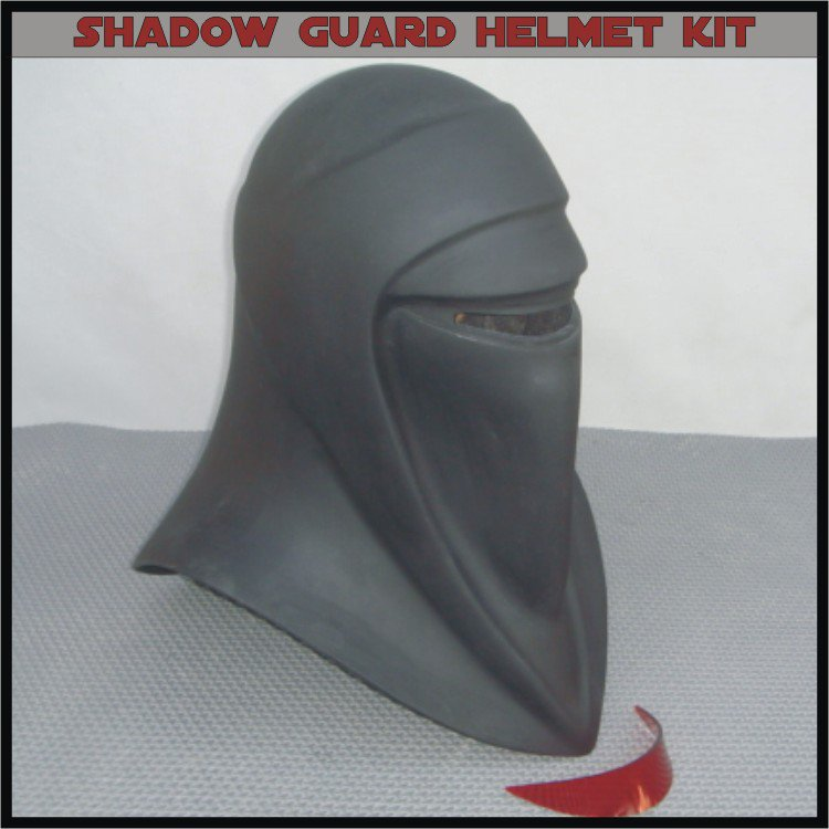 Custom Made Star Wars Imperial Shadow Guard Life Size Helmet Prop Kit