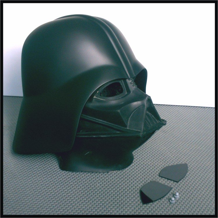 Custom Made Star Wars ESB-ROTJ/ Darth Vader Collectors Life Size Helmet Prop Kit