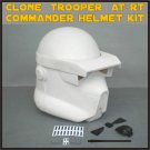 Custom Made Star Wars Clone Trooper AT-RT Commander Life Size Helmet Prop Kit
