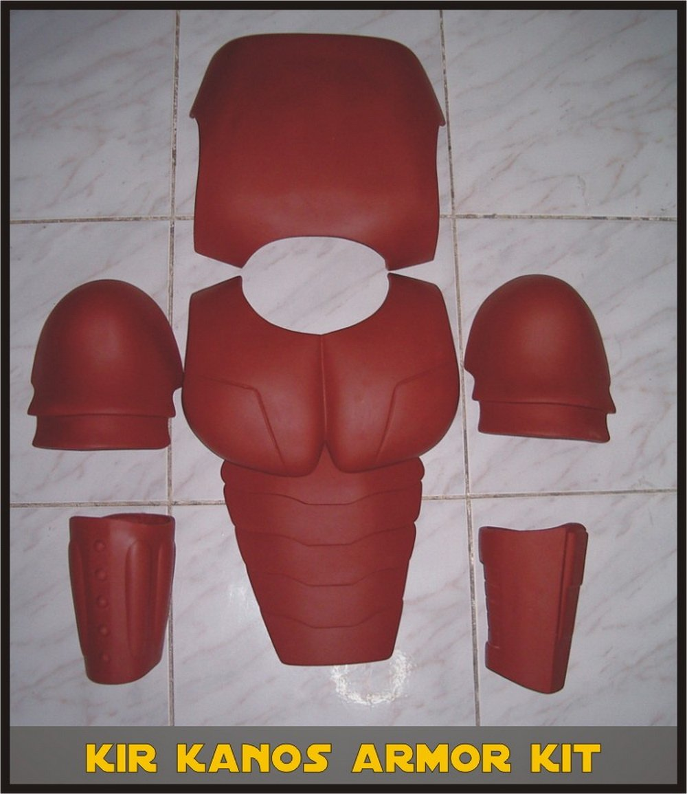 Custom Made Star Wars Royal/Crimson Guard/Kir Kanos/Carnor Jax Life Size Armor Prop Kit