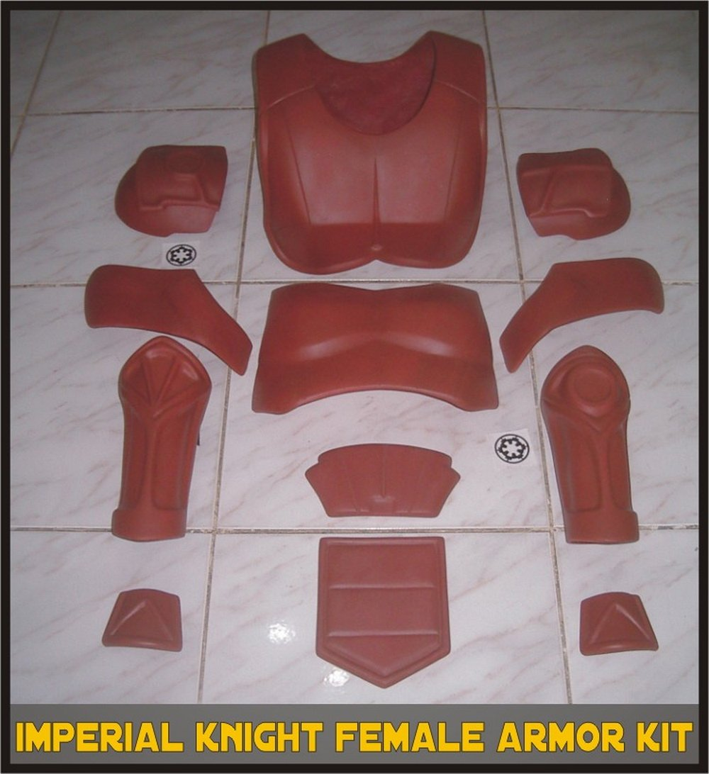 Custom Made Star Wars Imperial Knight Star Wars Women's Deluxe Life Size Armor Prop Kit