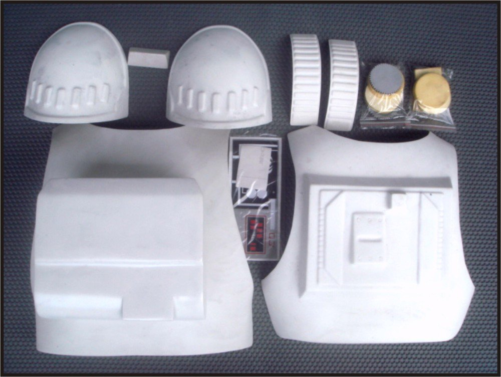 Custom Made Star Wars AT-AT Driver Armor Life Size Armor Prop Kit With Hoses