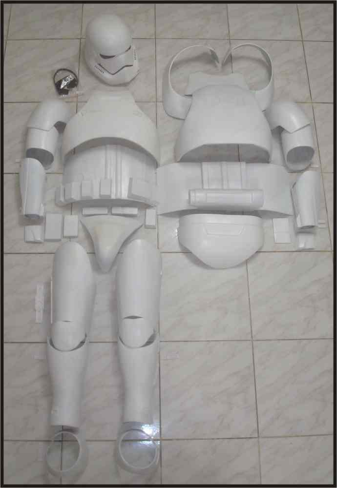 Custom Made Star Wars TFA Stormtrooper Armor Life Size Armor Prop Kit
