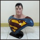 Custom Made Life Size Alex Ross Superman Superhero Bust Figure Prop