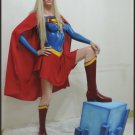 Custom Made Life Size Supergirl Statue Prop (PG Addition)