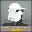 Custom Made Star Wars Clone Trooper At-Rt Commander Adult Size Helmet Prop