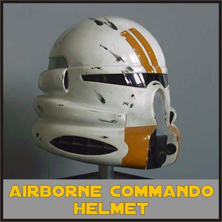 Custom Made Star Wars Clone Trooper Airborne Commander Keller Adult Size Helmet Prop