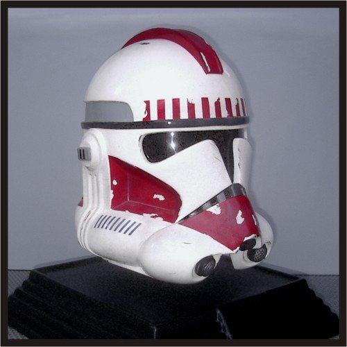 Custom Made Star Wars Clone ROTS Shock Trooper Adult Size Helmet Prop