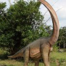 SALE: Custom Made Life Size Brachiosaurus Looking Backward Adolescent Dinosaur Statue