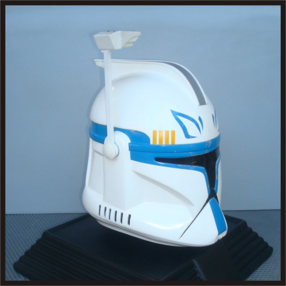 Custom Made Star Wars Clone Trooper AOTC ARC Captain Rex Adult Size Helmet Prop