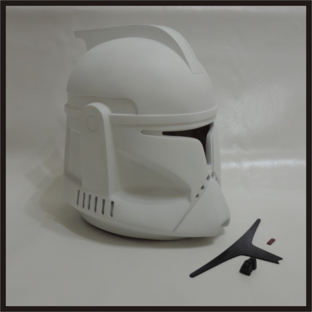 Custom Made Star Wars Clone Trooper AOTC Infantry Life Size Helmet Prop Kit