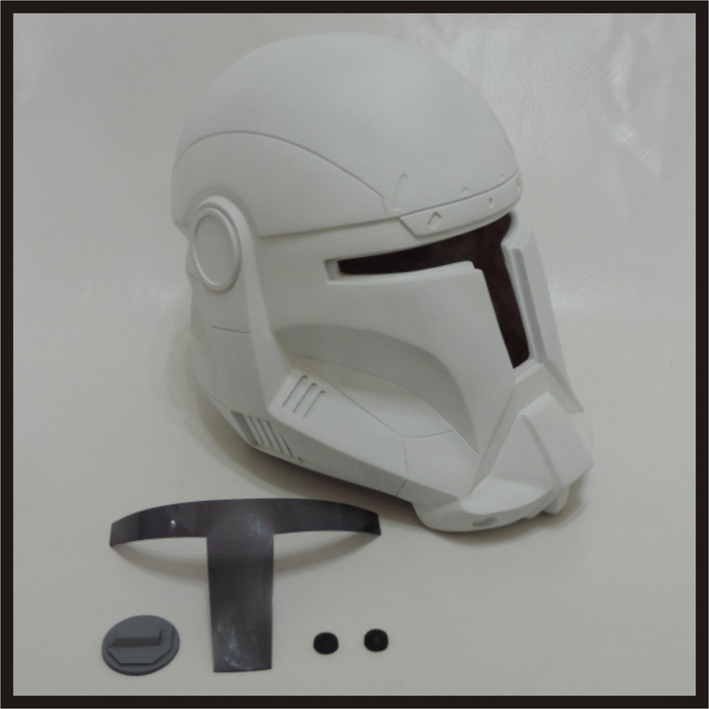 Custom Made Star Wars Clone Trooper Republic Commando Life Size Helmet Prop Kit