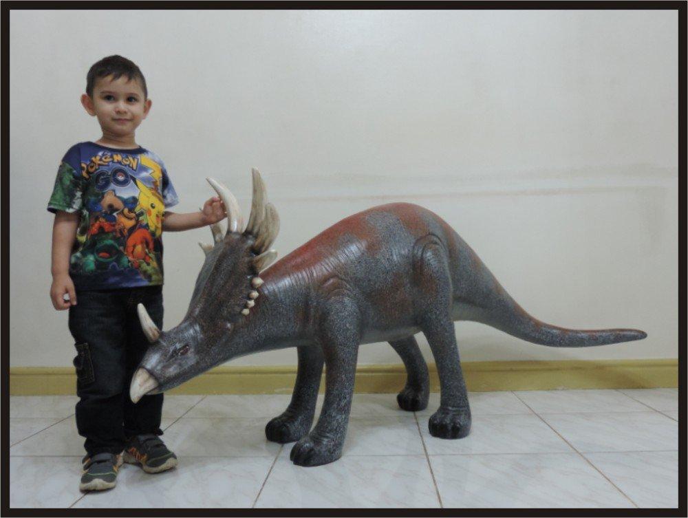 Custom Made Life Size Juvenile Styracosaurus Dinosaur Statue