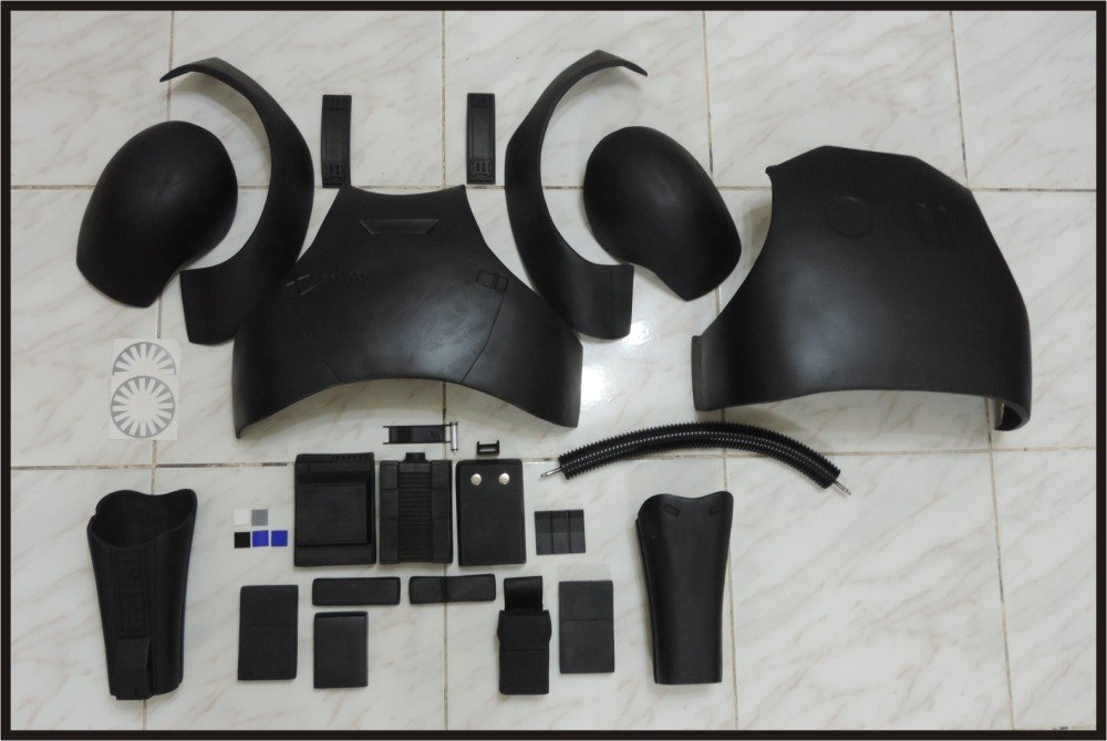 Custom Made Star Wars TFA TIE Armor Life Size Armor Prop Kit