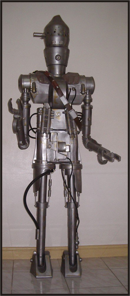 Custom Made Life Size Star Wars IG-88 Bounty Hunter Droid Statue Prop