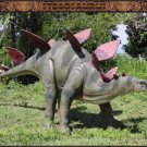Custom Made Life Size Stegosaurus Dinosaur Statue