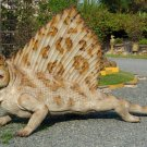Custom Made Life Size Dimetrodon 10' Pre-Dinosaur Era Statue