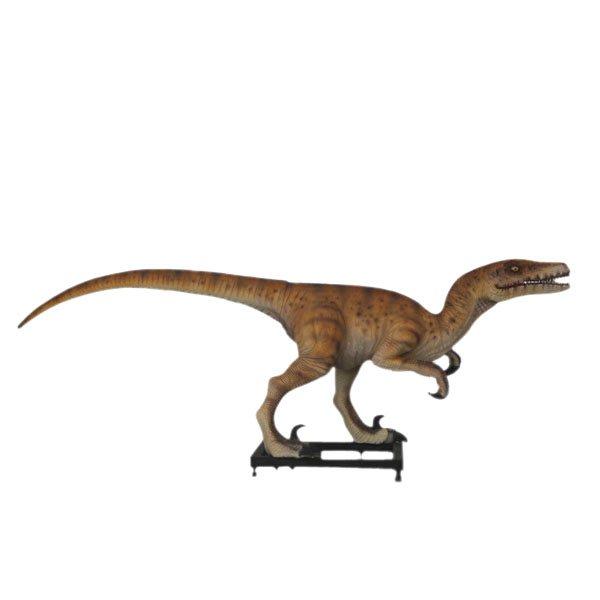 Custom Made Life Size Deinonychus/Jurassic Park Veloceraptor 10' Dinosaur Statue